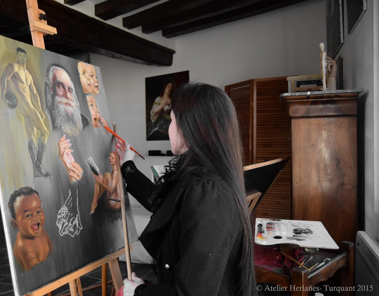 ATELIER D'ART HERLAÑES©