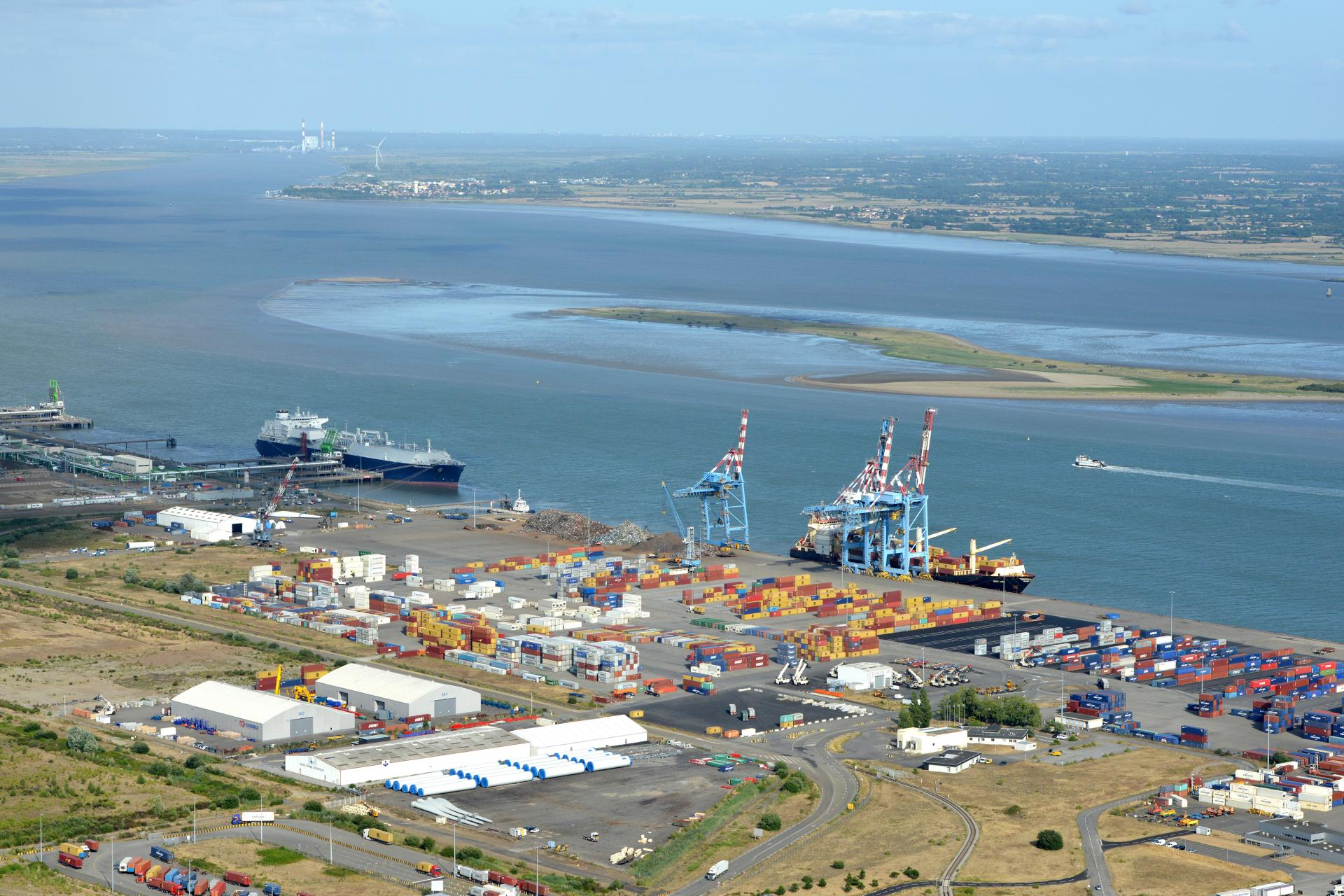 VISITE DU GRAND PORT MARITIME NANTES-SAINT-NAZAIRE PORT©