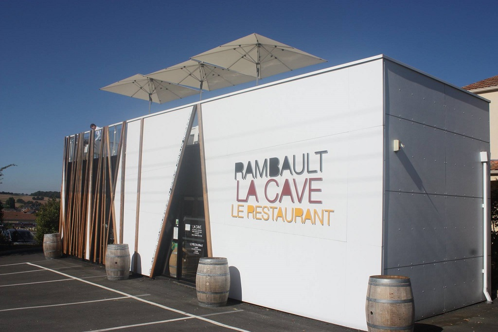 RESTAURANT LA CAVE RAMBAULT©